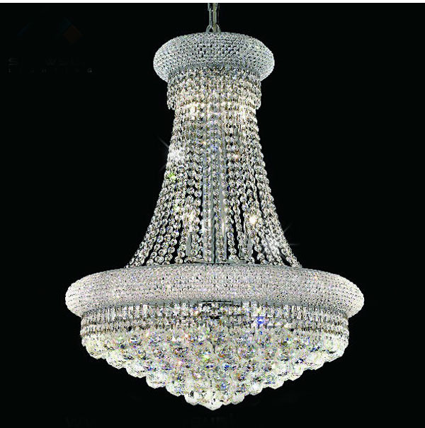 buy modern chrome crystal chandelier classic gold crystal chandelier light. Black Bedroom Furniture Sets. Home Design Ideas