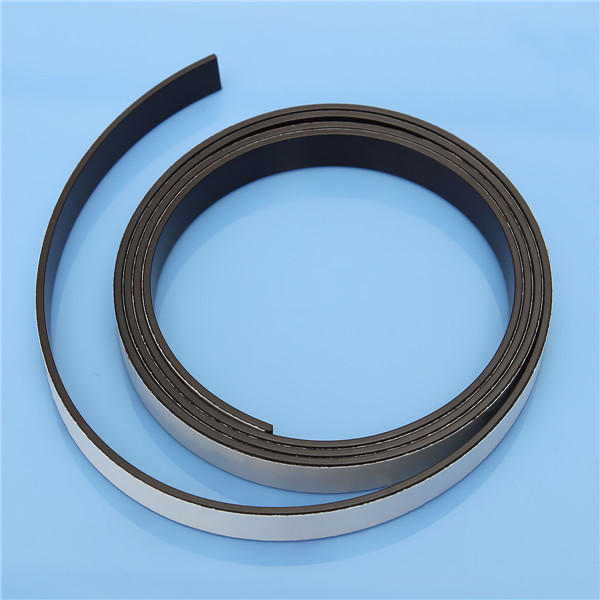 1 m gomma autoadesivo banda magnetica magnete flessibile mestiere di diy Nastro 10x1.5mm di alta qualità per negozio ufficio