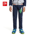 boys winter jeans warm lining kids ripped jeans children trousers boys pants children trousers boy clothes