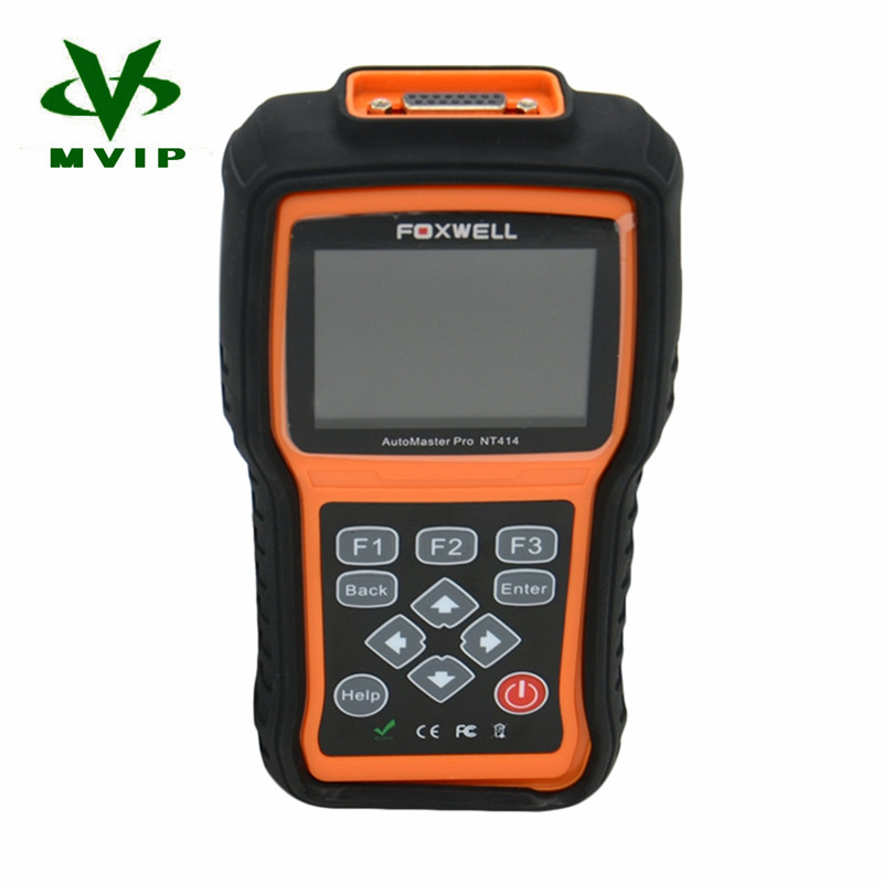 New Arrival Foxwell NT414 All Brand Vehicle Four Systems Diagnostic Too DHL Free Shipping(China (Mainland))