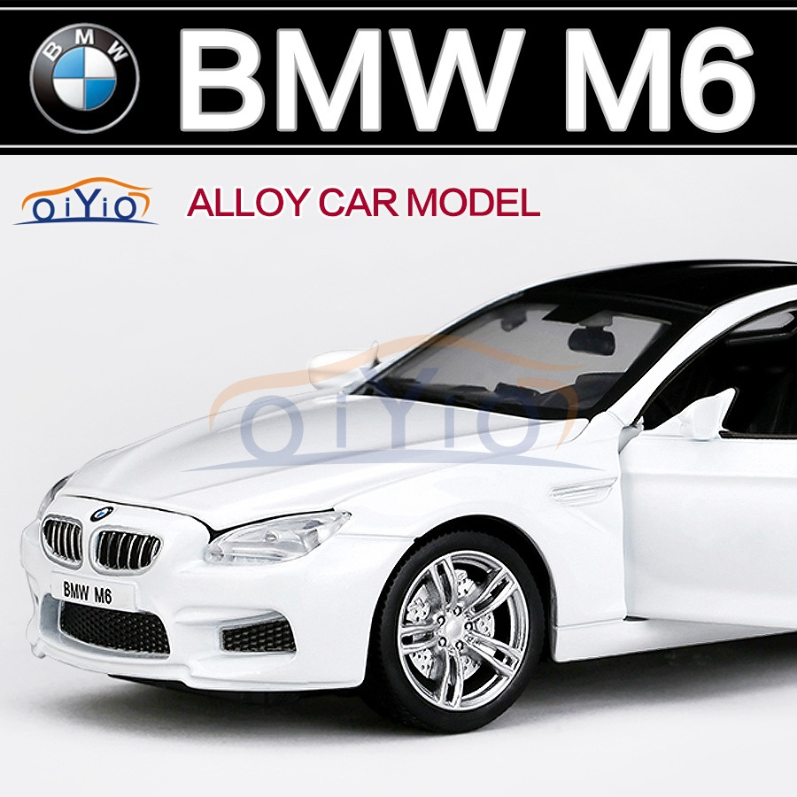 2015 New 1:32 BMW M6 Car Models Alloy Diecast Vehicle Hotwheels Car Model Toys for children as gift Car Model Collection VB32093(China (Mainland))