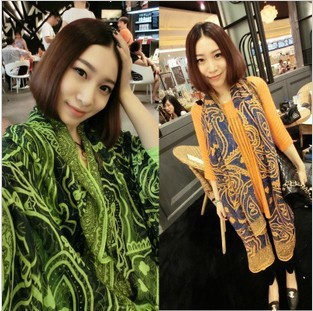 Small silver scarf retro color silk large Persian Pattern Scarf Shawl Scarf hot 2015(China (Mainland))