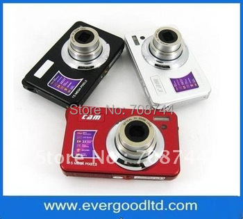 Cheap Digital Camera with Rechargeable Battery Pack,15mp and 3X Optical Zoom,2.7 inch TFT LCD