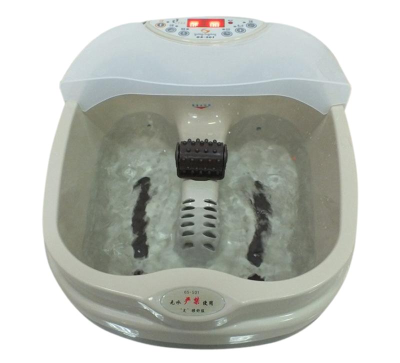 Подлинная ножные ванны ножные ванны автоматический электрический массаж с подогревом ноги ванна для ног ванны бассейна спец