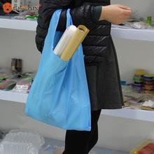 1 Pz New Eco Shopping Viaggi Sacchetto di Spalla Sacchetto di Tote Handbag Pieghevoli Borse Riutilizzabili Giardino di Casa 10 Colori(China (Mainland))