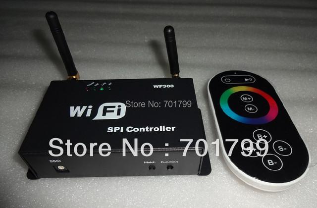 WF300;WIFI SPI controller,DC5-24V input, SPI signal output;1024pixels controlled