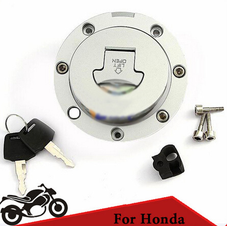 Motorcycle CNC Tank Cover Fuel Gas Cap Cover Fuel Tank Cap Locking Door for Honda CBR250 1100xx 600 900 400 BROS400 Z2A035(China (Mainland))