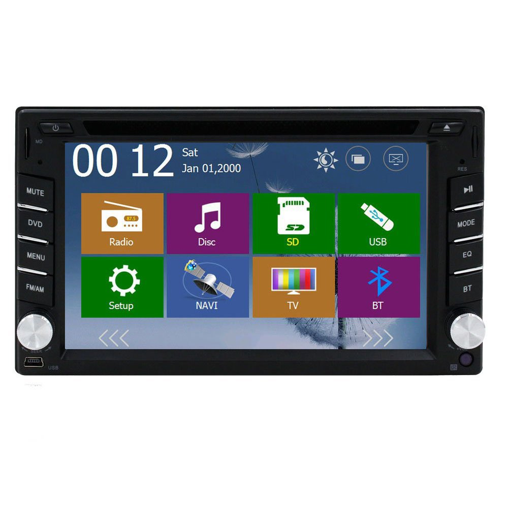 Double din car stereo with navigation and bluetooth reviews 2015 16