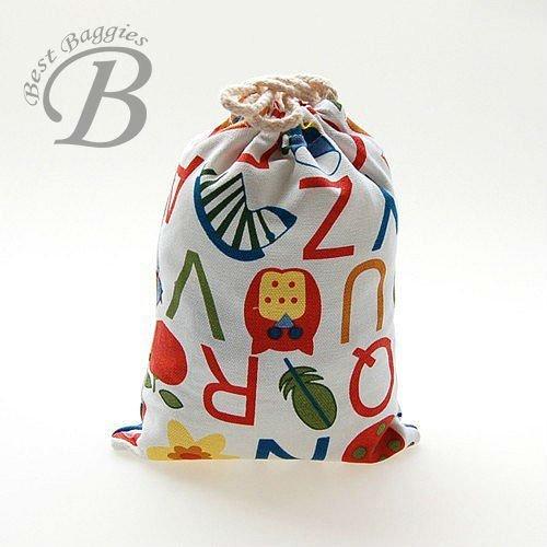 cotton gift drawstring bag