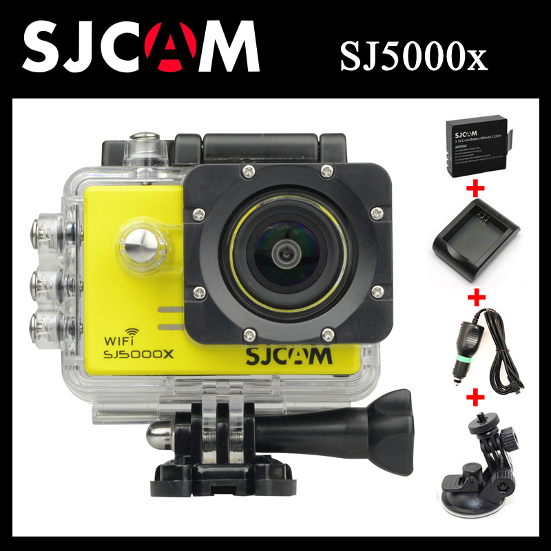 Здесь можно купить  Original SJCAM SJ5000X Elite WiFi 4K 24fps 2K 30fps Gyro Action Camera+Extra 1pcs Battery+Battery Charger+Car Charger+Holder Original SJCAM SJ5000X Elite WiFi 4K 24fps 2K 30fps Gyro Action Camera+Extra 1pcs Battery+Battery Charger+Car Charger+Holder Бытовая электроника
