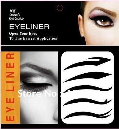 50set 2015 Hot  favorite eyeliner stickers / Vintage Eye Shadow Sticker Smoky Eyes Sticker