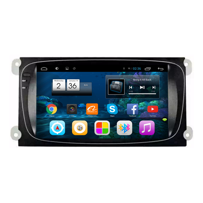 "8"" Android 4.2.2 1024X600 Car Radio DVD GPS Navigation Central Multimedia for Ford Focus Mondeo S-Max WIFI DVR OBDII Phonebook(China (Mainland))"