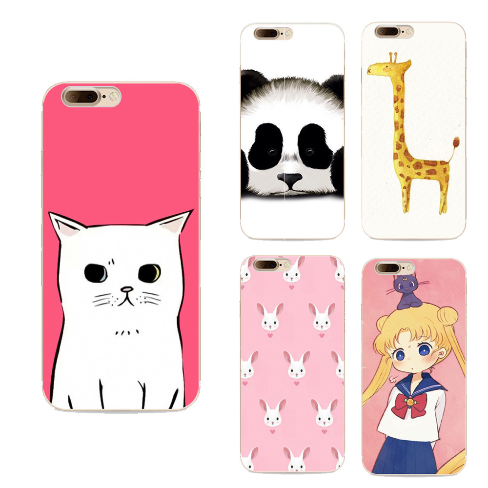 Design phone cases For Iphone 7 case Fashion Cute Animal Panda Tiger Giraffe Owl Cartoon Painted Case Soft Hard Cell phone Cover(China (Mainland))