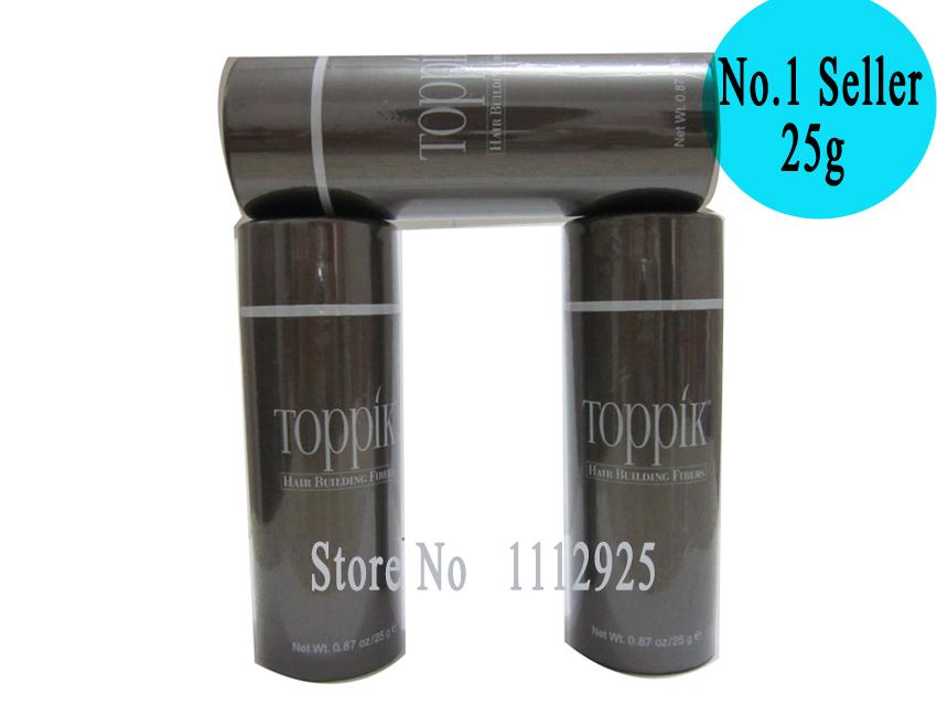 10colors Spray Instant Keratin Hair Fibers Toppik 25g Styling Powder Building Hair Loss Care Treatment(China (Mainland))