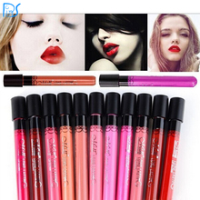 Popular Women's lipgloss Waterproof Beauty Makeup LipStick Velvet matte Colors Lip Pencil Lipstick Lip Gloss Lip 11 Colors