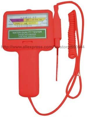 Home Swimming Pool Water PH CL2 Chlorine Meter/Spa Water Tester/Swimming Tester & 20PCS/Lot DHL/UPS/EMS Free Shipping(China (Mainland))