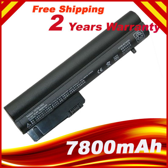 7800mAh 9 Cell Laptop Battery for HP Business Notebook 2400 2510p nc2400 2533t Mobile Thin Client EliteBook 2530p series(China (Mainland))