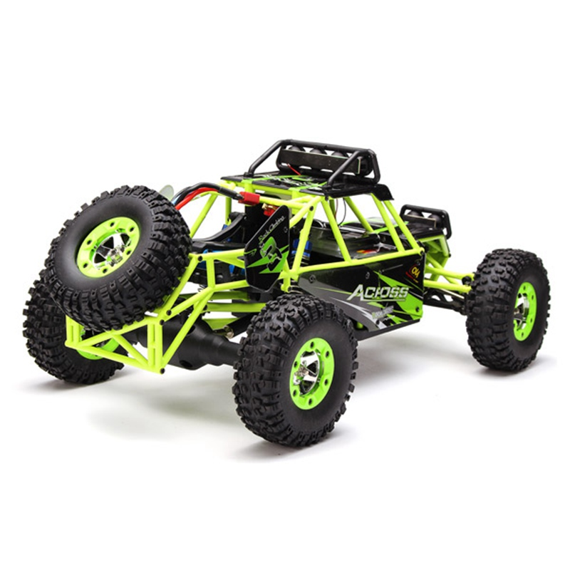 RC Car WLtoys 12428 2.4G 4WD Crawler 1:12 Electric four-wheel drive Climbing RC Car With LED Light RTR Children Toy ty0005(China (Mainland))