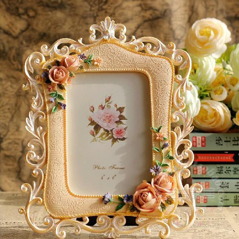 Resin Photo Frame Fashion Wedding Gift 10 Inch Picture Frame-in Frame ...