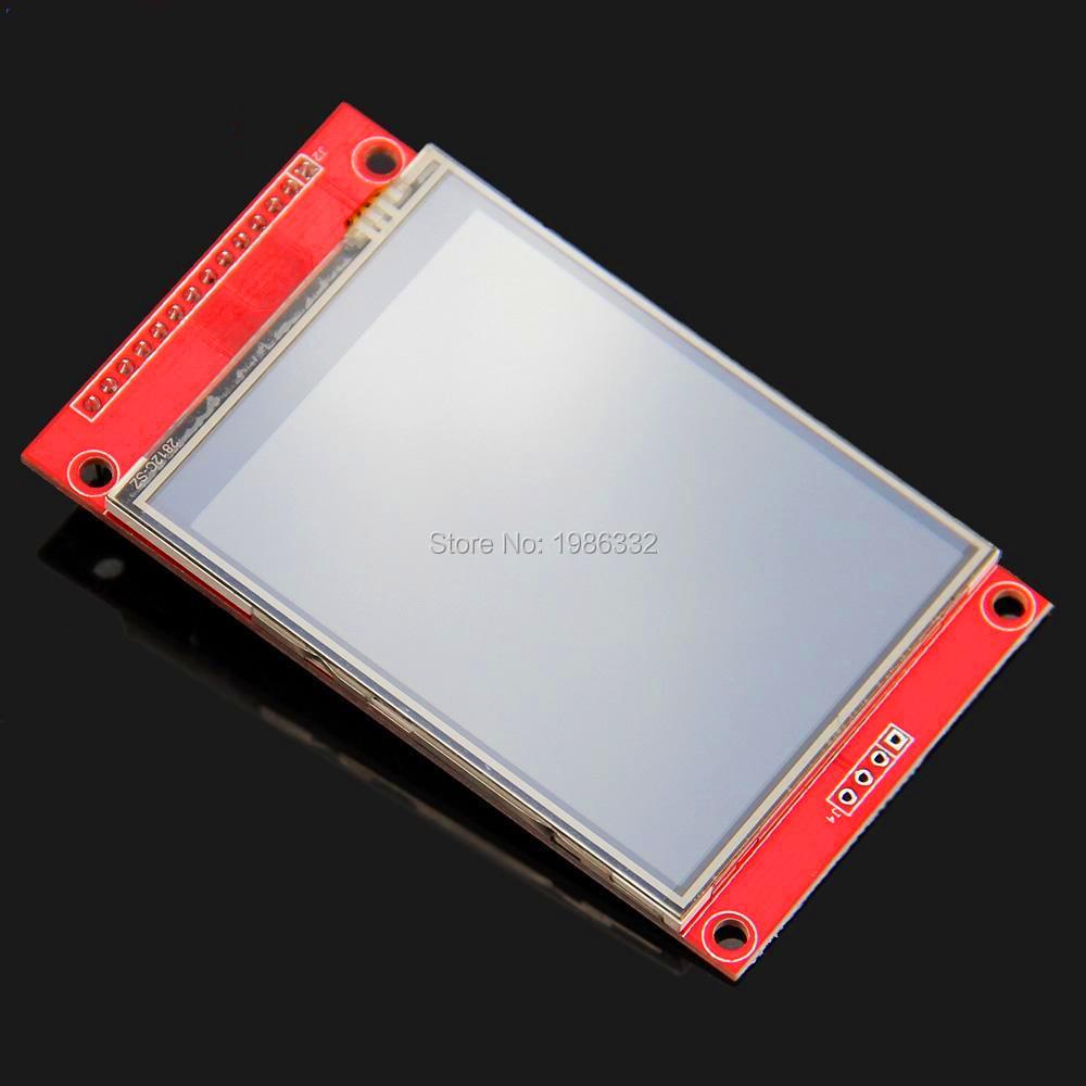 "2.8"" SPI Serial Port 240x320 ILI9341 TFT LCD Display Screen Touch Panel Backlight Module 5V/3.3V +PCB Adapter Power IC SD Socket(China (Mainland))"