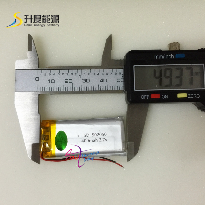 SD502050 Battery 3.7V 400mAh Rechargeable Li-Polymer Battery from china factory/supplier(China (Mainland))