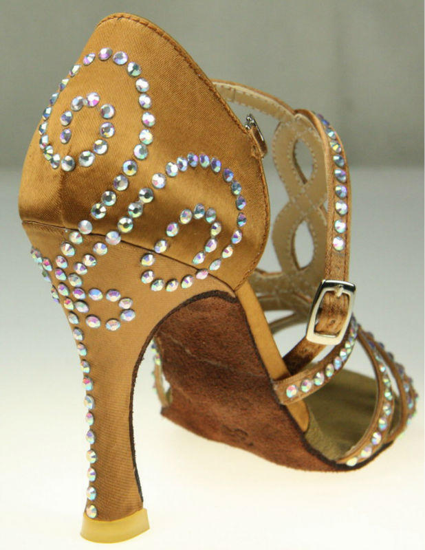 Free Shipping Suphini Woman Nude Salsa <font><b>Dance</b></font> <font><b>Shoes</b></font>