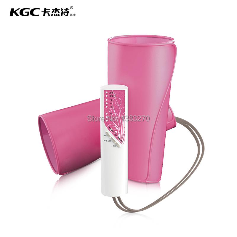 2015 hottest leg arm fat burning slimming belt as seen on tv Air pressure Thin beauty leg massager machine Pink(China (Mainland))