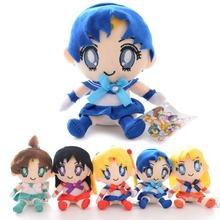 Japan Anime Collection Plush Sailor Moon Girls Characters Uranus Ten Haruka Girl Toy 7'' Brand New(China (Mainland))