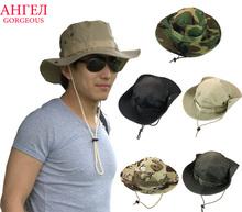 Bucket Hat Boonie Hunting Fishing Outdoor Wide Cap Brim Military Unisex Suzie