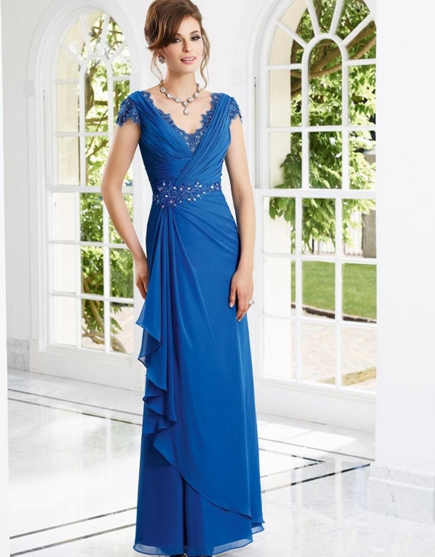 Buy floor length elegant bridal mother of for Wedding dress mother of the groom