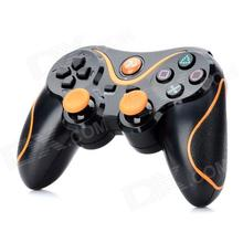 New Gaming Double Shock Bluetooth v3.0 Wireless Controller Sixaxis Joypad Gamepad Joystick For PS3/PS Slim Free shipping
