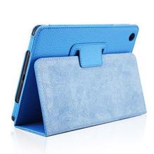Fashion protective folding folio briefcase bag case cover for 7 9 Apple iPad mini 3 2