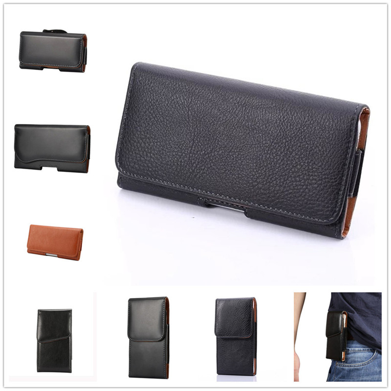 For BlackBerry Q5 Cover Mobile Phone Case High Quality Leather Belt Clip Phone Pouch Bag Free Shipping(China (Mainland))