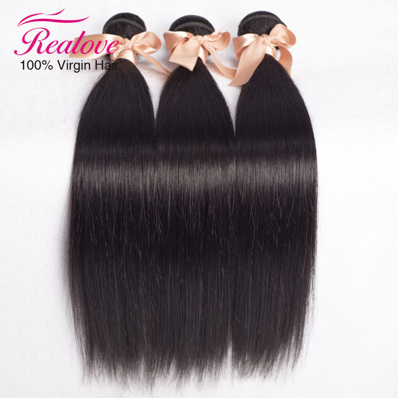 Brazilian Virgin Hair Straight 3 Pieces 6A Virgin Brazilian Straight Hair Bundles Cheap Brazilian Human Hair Weaves Top Quality