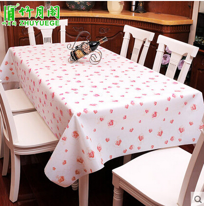 waterproof dining soft PVC Table Cloth Rectangular Tablecloth washable EVA table covers home decoration(China (Mainland))