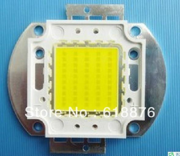 Free shipping!2pcsX50W High Power SMD LED Natural White 4000-4500k 30-36V for DIY(China (Mainland))