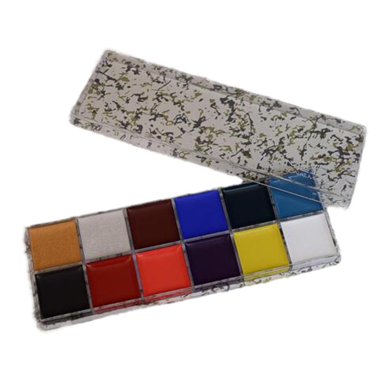 coloresset facial y corporal pintura maquillaje de payaso maquillaje para baile de disfraces