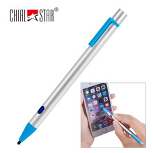 Universal Mobile Phone Stylus With USB Charging Wire Screen Touch Stylus Pen for iPhone iPad Samsung Tablet PC