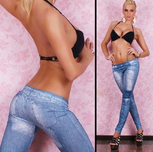 Free shipping Ladies Cowboy color rendering Sox nine slim legging pantyhose sexy
