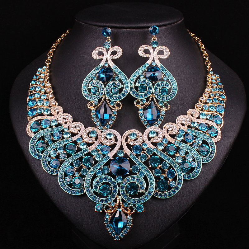 aliexpress buy white gold plated bridal jewelry sets