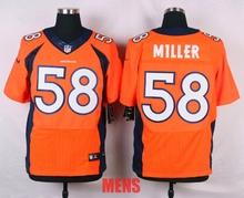 100% Stitiched,Denver Bronco Von Miller for men women youth(China (Mainland))