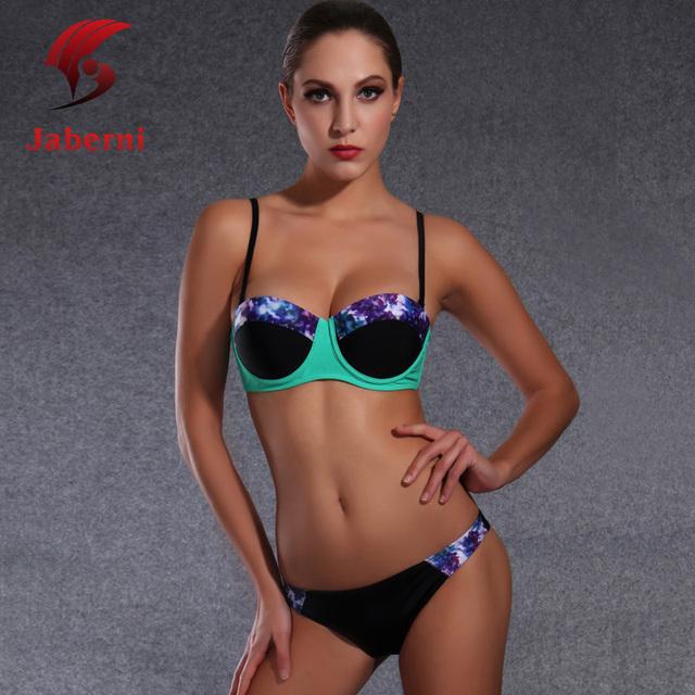 2016 новые женские сексуальные купальники 2 шт. Tie Dye женский одежда для пляжа сексуальные бренд женщин купальник лоскутная шик майо де бейн