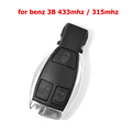 High quality 3 Buttons Smart Remote Key for Mercedes Benz NEC Chip 315 433MHz Optional Supports