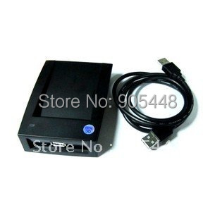 Free Shipment USB New ID Proximity Sensor Smart  RFID Card Reader Black 125Khz EM4100 compatible RFID, Lowest Price on Aliexpres