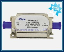 Satellite line amplifier, Free Shipping
