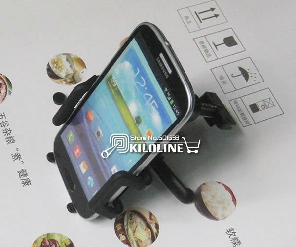 Universal Car Air Vent Holder Car Mount Holder For Samsung Galaxy S3 i9300 Galaxy S4 Galaxy s2 and other phones