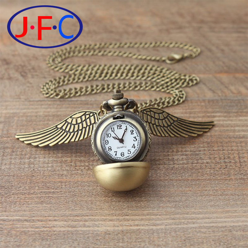 Harry Potter snitch quartz watch the men's watch students spherical pattern gift small wings ZS004-1(China (Mainland))