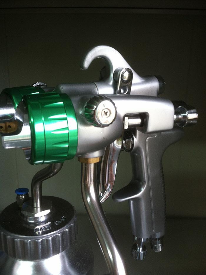 Chrome Plating Spray Gun Double Nozzle High Quality 1.3 Mm Personalized Car Spray Gun SAT1200<br><br>Aliexpress
