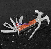 Familia la seguridad del coche del martillo vidrios rotos de salvamento y socorrismo garra martillo exterior de múltiples funciones herramienta de combinación
