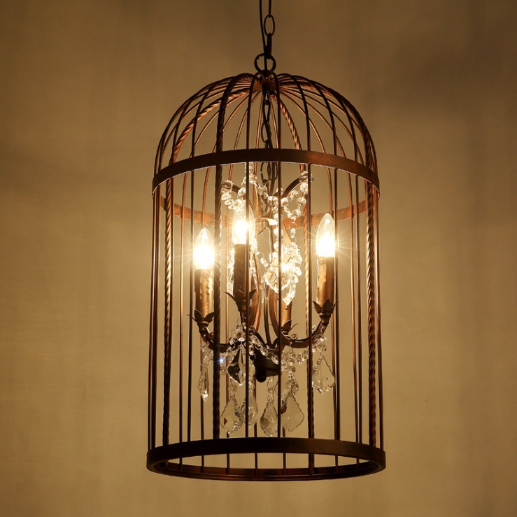 vintage birdcage crystal chandelier restoration ceiling. Black Bedroom Furniture Sets. Home Design Ideas